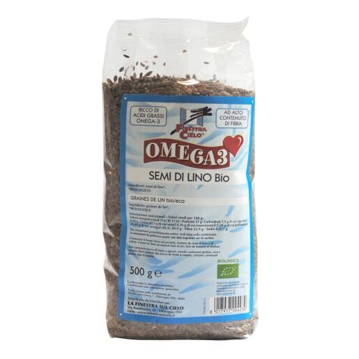 Seminte bio de in 500g (produs vegan)
