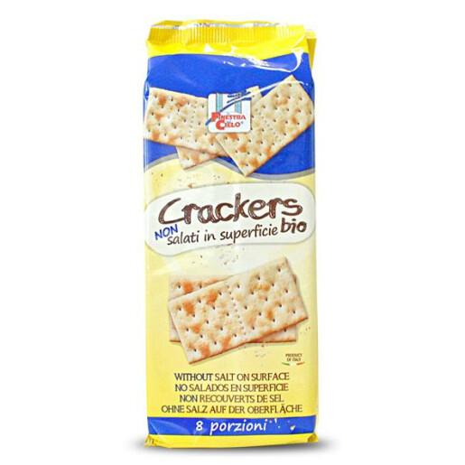 Crackers bio (fara sare la suprafata)