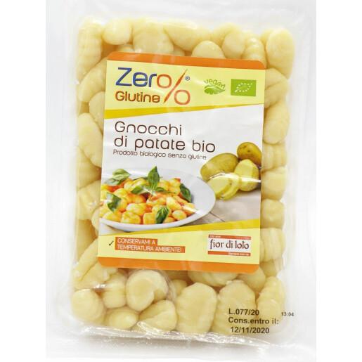Gnocchi din cartofi bio, fara gluten, vegan, Fior di Loto 400g