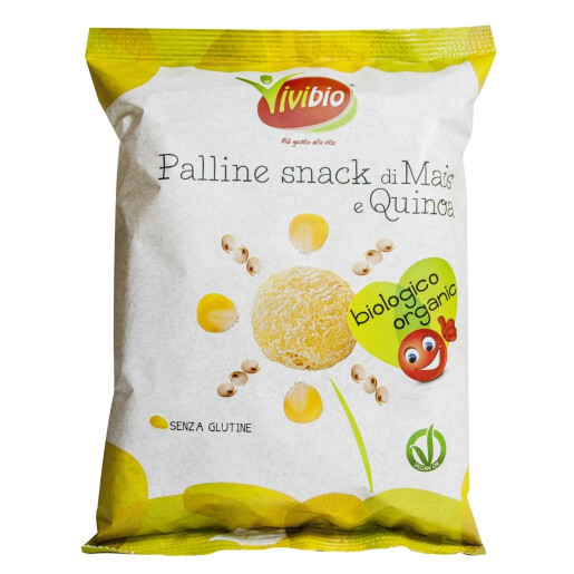 Pufuleti bio din porumb si quinoa (fara gluten) 40g