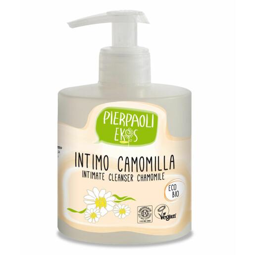 Gel pentru igiena intima cu extract de musetel ECO BIO Pierpaoli Ekos (vegan) 350 ml