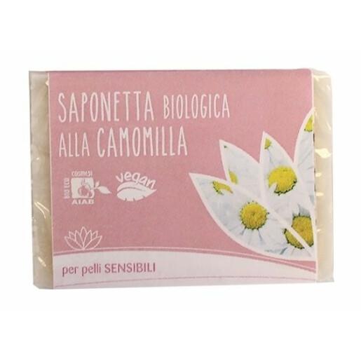 Sapun solid bio cu musetel pentru piele sensibila, vegan, Fior di Loto 100g
