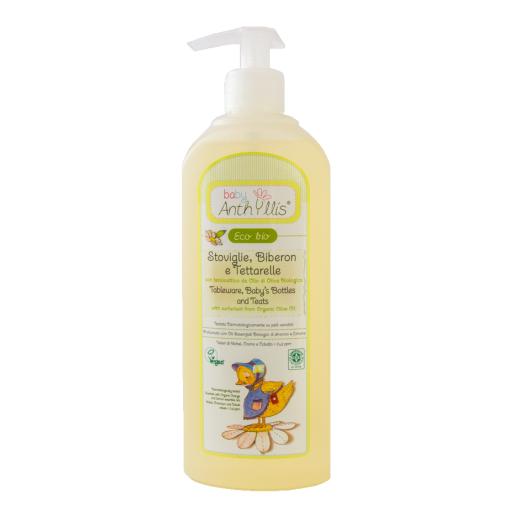 Detergent solutie pentru vesela, biberoane ECO BIO BABY ANTHYLLIS 500ml