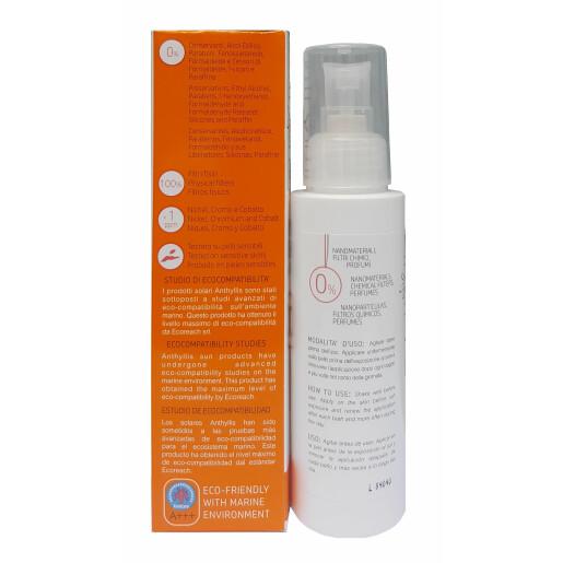 Crema protectie solara ECO BIO SPF 50 pentru bebe si copii Anthyllis 100ml (vegan)