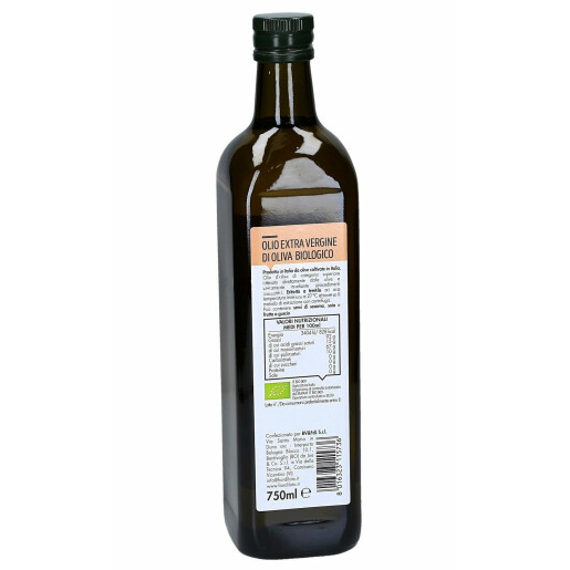 Ulei de masline bio extravirgin, extras la rece, Fior di Loto 750ml