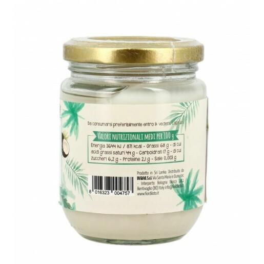 Cocos bio pentru gatit (unt de cocos), Fior di Loto 200g