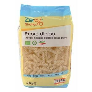 Paste bio Fusilli din orez, fara gluten, Fior di Loto 500g