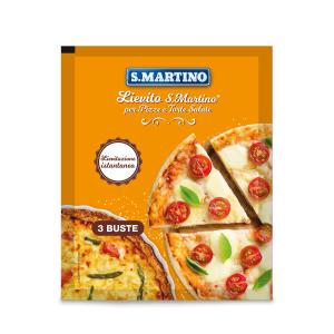 Drojdie pentru pizza si quiche, fara gluten, S.Martino, (3 plicurix16g) 48g