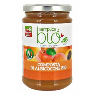 Gem Bio de caise, indulcit cu pulpa de mere, vegan, La Finestra Sul Cielo, 320g