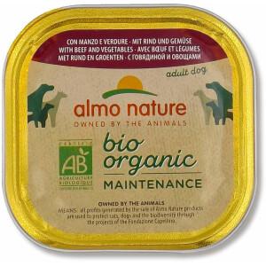 Almo Nature BioOrganic Maintenance Hrana umeda pentru caine adult, cu vita si legume 300g