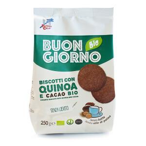 Biscuiti BIO Buongiornobio cu quinoa si cacao 250g