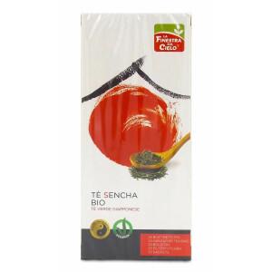 Ceai verde Bio Sencha japonez, vegan, 25 plicuri, La Finestra Sul Cielo, 42g