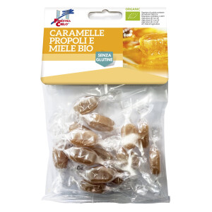 Bomboane bio cu propolis si miere (fara gluten, vegan) 50g