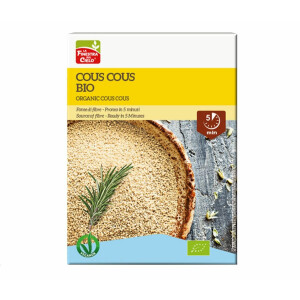 Cous cous bio din grau (produs vegan) 500g