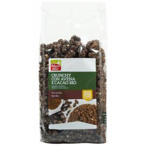 Musli crocant bio cu fulgi de ovaz si cacao 375g