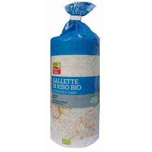 Rondele bio din orez integral expandat 100g (fara gluten, fara sare)