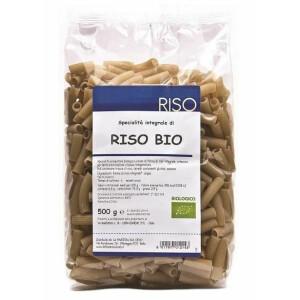 Paste Bio Maccheroncini din orez integral, 500g La Finestra Sul Cielo
