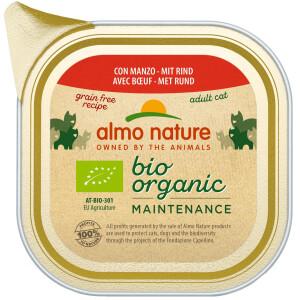 Almo Nature BioOrganic Maintenance Hrana umeda pentru pisica adult, cu vita 100g