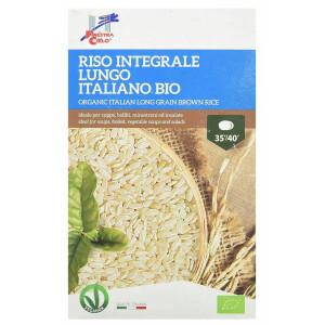 Orez bio integral bob lung, italian (produs vegan) La Finestra Sul Cielo 1kg