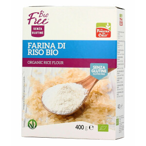 Faina Bio de orez, fara gluten, vegan, La Finestra Sul Cielo, 400g