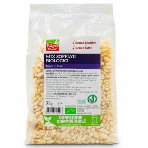 Mix bio expandat (quinoa, mei, orez), fara gluten, fara lapte, vegan, La Finestra Sul Cielo, 75g