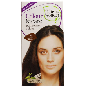 Vopsea permanenta fara amoniac Colour & Care - 4 Medium Brown