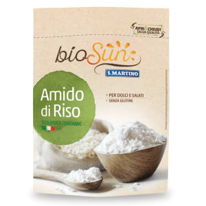 Amidon bio de orez fara gluten 120g bioSUN