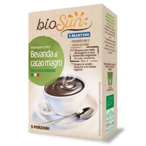 Băutură bio cu cacao degresata fără gluten, vegan (5 portii) 125G