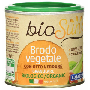 Amestec vegetal granular bio pentru supa fara gluten, fara drojdie 120g bioSUN