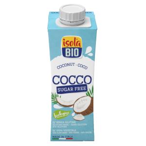 Băutura Bio de cocos, To Go, Isola Bio, fara gluten, fara zahar 250ml