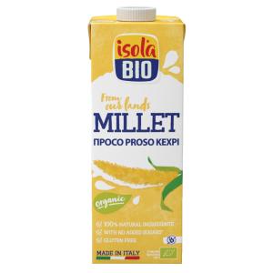 Bautura bio din mei Isola Bio 1L (fara gluten, fara lactoza)
