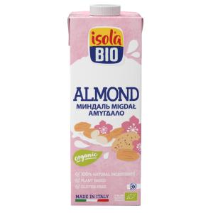 Bautura bio de migdale Isola Bio 1L (fara gluten, fara lactoza)