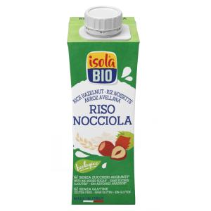 Băutura bio din orez cu alune, fara gluten, Isola Bio 250 ml