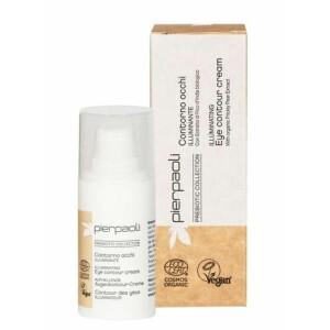 Crema contur pentru ochi iluminatoare Cosmos Organic cu extract de cactus Pierpaoli Prebiotic 15 ml