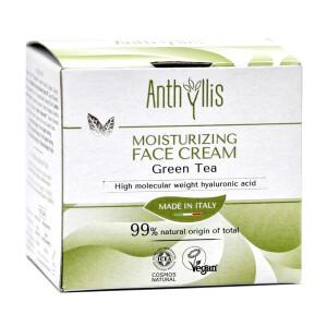 Crema de fata hidratanta cu ceai verde, vegan, Anthyllis 50ml