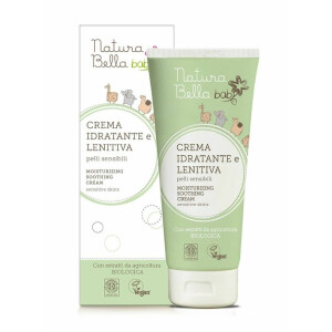 Crema hidrantanta si calmanta Eco Bio pentru piele sensibila, vegan, Natura Bella Baby 100ml