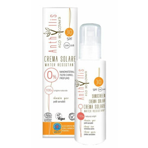 Crema protectie solara ECO BIO SPF 30 Anthyllis 100ml (vegan)