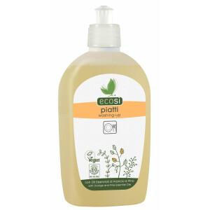 Detergent solutie ECO pentru spalat vase cu ulei esential de portocale si pin ECOSI 500ml