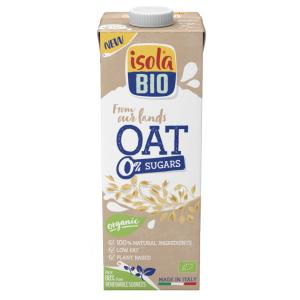 Băutura Bio de ovaz, 0% zaharuri, Isola Bio, 1000ml