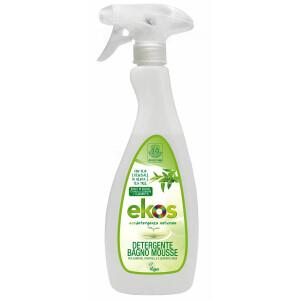 Detergent ECO Mousse pentru baie, obiecte sanitare, faianta, suprafete din inox, Ekos 750ml