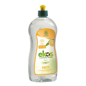Solutie ECO pentru spalat vase/biberoane cu portocale Ekos 750ml