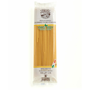Paste bio Spaghete din grau grisat 500G