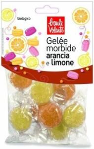 Jeleuri bio cu aroma de portocale si lamaie, fara gluten, Baule Volante 70g