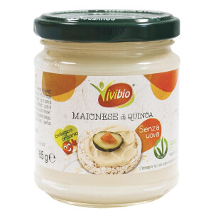Maioneza bio cu quinoa, fara ou Vivibio 185g