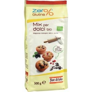 Mix bio pentru dulciuri, fara gluten, Fior di Loto 500g