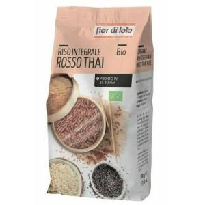 Orez Rosu Thai integral bio, Fior di Loto 500g