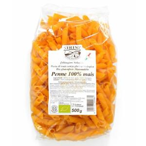 Paste bio Penne din porumb 100% (fara gluten) 500g.