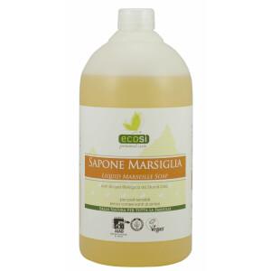 Sapun Bio de Marsilia, lichid, pentru piele sensibila, fara conservanti, vegan, ECOSI, 1L