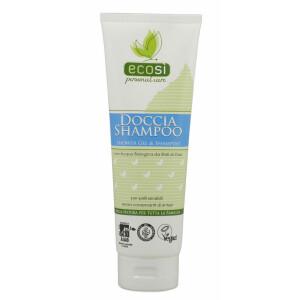 Sampon si gel de dus pentru piele sensibila, Eco Bio, ECOSI, 250 ml