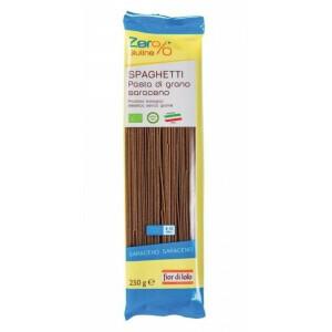 Paste Spaghete din Hrisca bio, fara gluten, Fior di Loto 250g